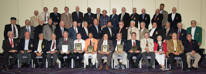 2015 BANQUET - NEW INDUCTEES AND MEMBERS